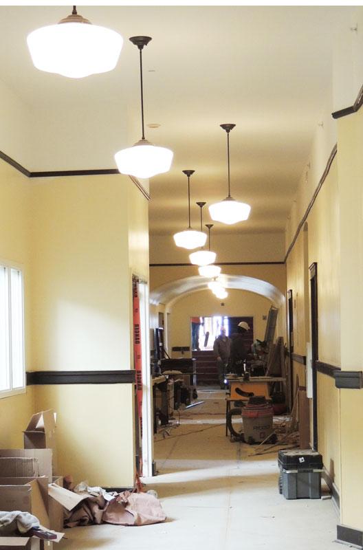 Roundtop-hallways