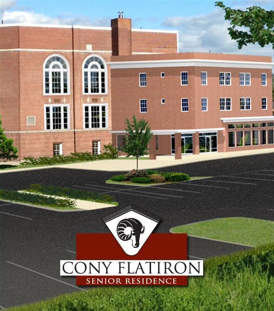 Rendering of Cony Flatiron Apartments